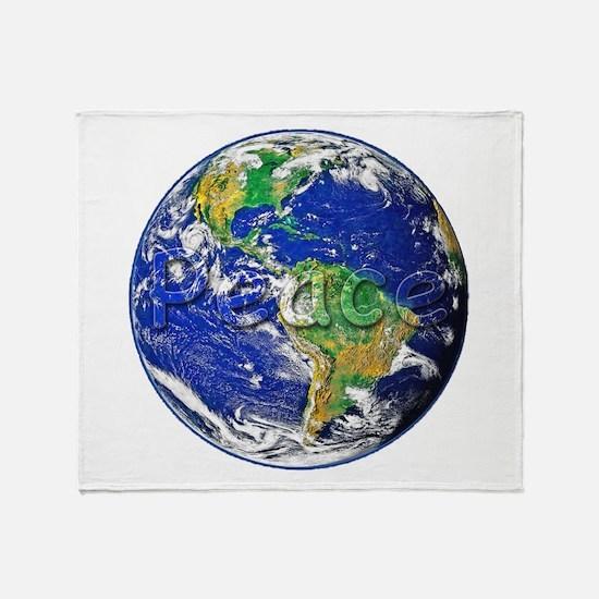 PeaceEarth Throw Blanket