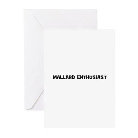 Mallard Enthusiast Greeting Cards (Pk of 10)