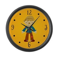 Wizard Of Oz Scarecrow Movie Wall Clock