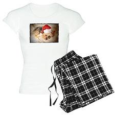 Santa Yorkie - Pajamas