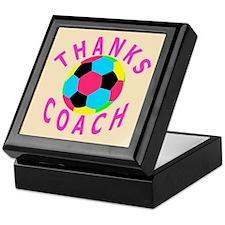 Soccer Coach Thank You Keepsake Box