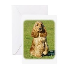 Cocker Spaniel 9P055D-057 Greeting Card