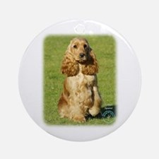 Cocker Spaniel 9P055D-057 Ornament (Round)