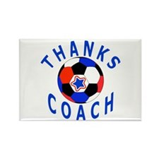 Soccer Coach Thank You Rectangle Magnet