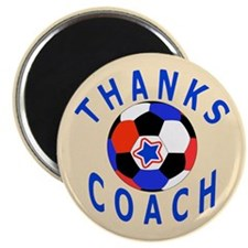 Soccer Coach Thank You Magnet