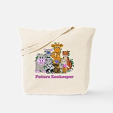 Future Zookeeper Girl Tote Bag