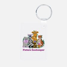 Future Zookeeper Girl Keychains