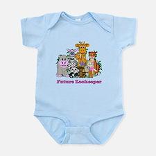Future Zookeeper Girl Infant Bodysuit