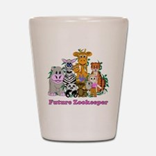Future Zookeeper Girl Shot Glass