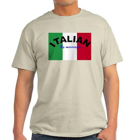 Italian by Marriage Light T-Shirt