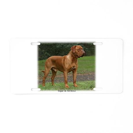 Dogue de Bordeaux 9Y201D-159 Aluminum License Plat