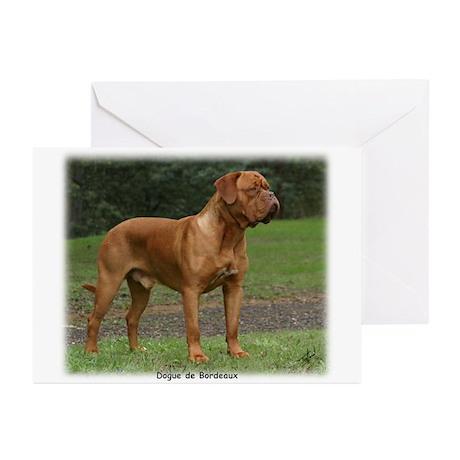 Dogue de Bordeaux 9Y201D-159 Greeting Cards (Pk of