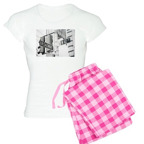 NY Broadway Times Square - Women's Light Pajamas