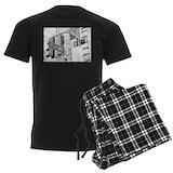 Ny broadway times square Men's Dark Pajamas