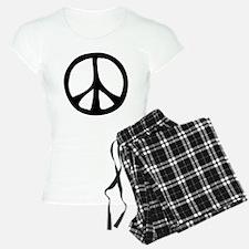 Flowing Peace Sign Pajamas