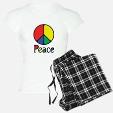 Emphatic Peace Colours Pajamas