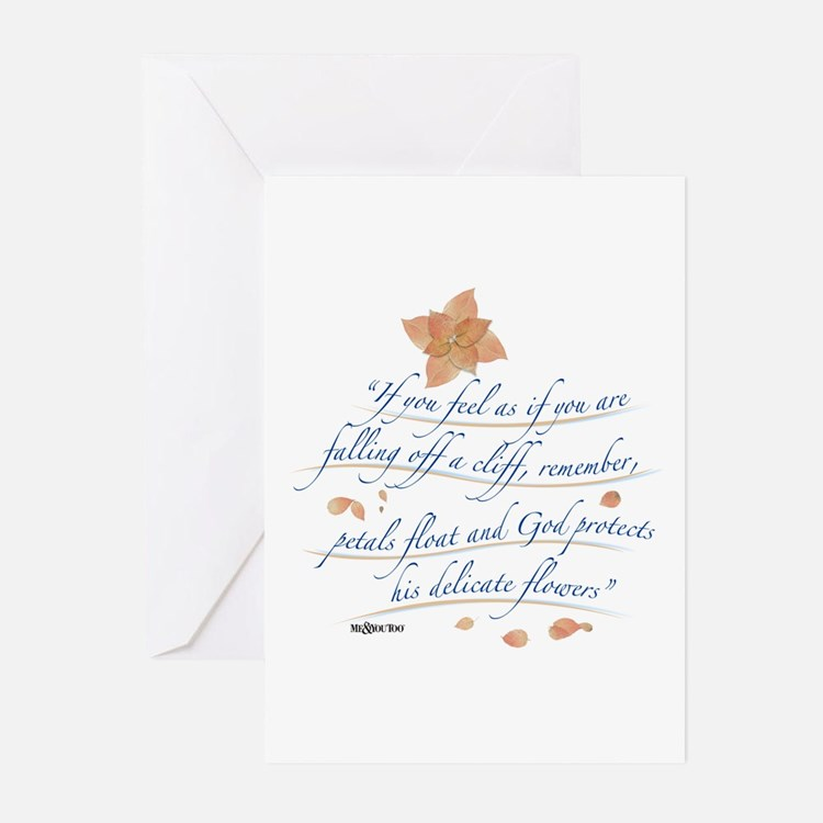 """IF YOU FEEL YOU ARE FALLING OFF A CLIFF..."""