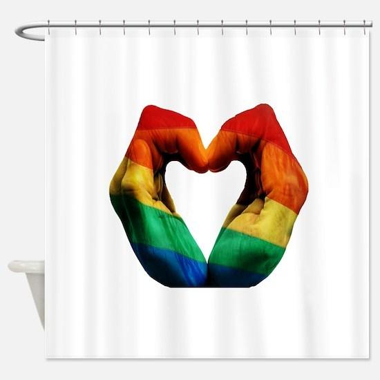 FEEL THE HARMONY Shower Curtain
