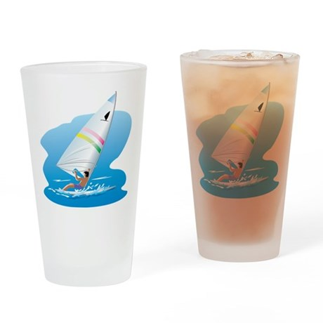 windsurfer Drinking Glass