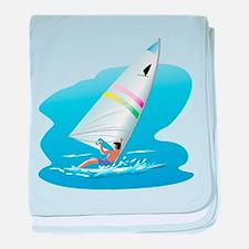 windsurfer baby blanket