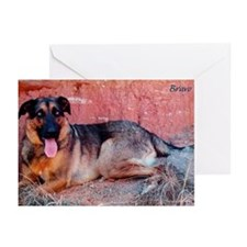 Bravo Wolf Greeting Cards (Pk of 10)