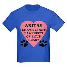 Akita Pawprints T