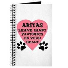 Akita Pawprints Journal