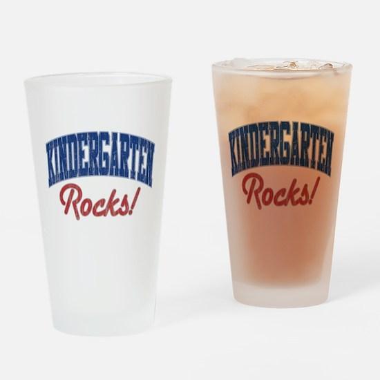 KINDERGARTEN ROCKS! Drinking Glass
