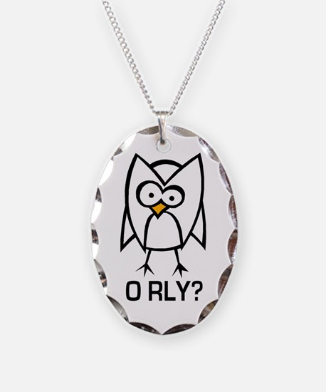 O RLY? v1.0 Necklace