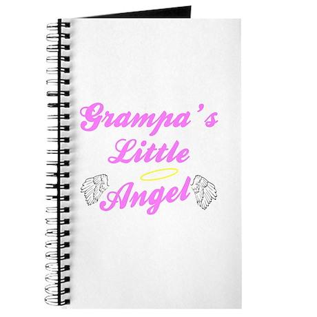 Grampa's Little Girl Angel Journal