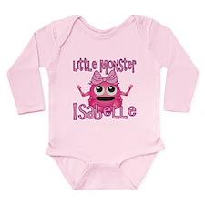 Little Monster Isabelle Long Sleeve Infant Bodysui