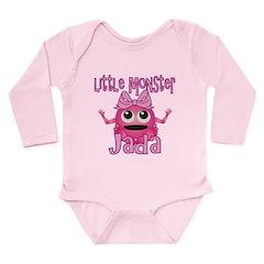 Little Monster Jada Long Sleeve Infant Bodysuit