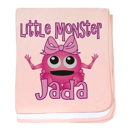 Little Monster Jada baby blanket
