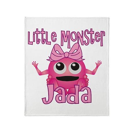 Little Monster Jada Throw Blanket