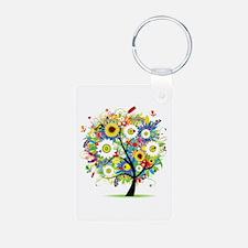 summer tree Keychains