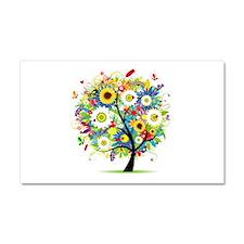 summer tree Car Magnet 20 x 12