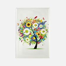 summer tree Rectangle Magnet (10 pack)