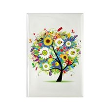 summer tree Rectangle Magnet