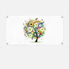 summer tree Banner