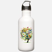summer tree Water Bottle
