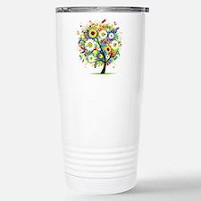 summer tree Travel Mug