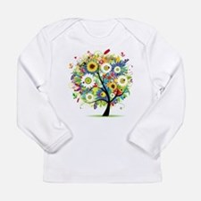 summer tree Long Sleeve Infant T-Shirt