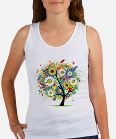 summer tree Women's Tank Top
