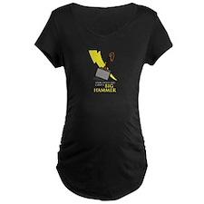 Speak_Softly_Thor_dark Maternity T-Shirt