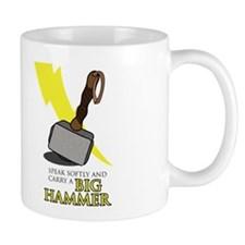 Speak_Softly_Thor Mugs