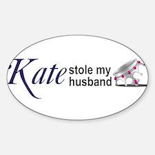 Cool Kate middleton Sticker (Oval)