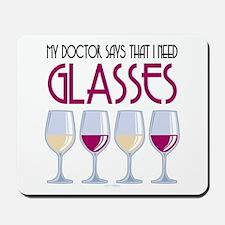 Wine Glasses Mousepad