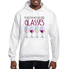 Wine Glasses Jumper Hoodie