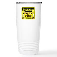 PTSD Medicated Veteran Thermos Mug