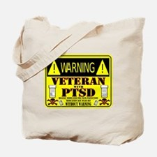 PTSD Medicated Veteran Tote Bag